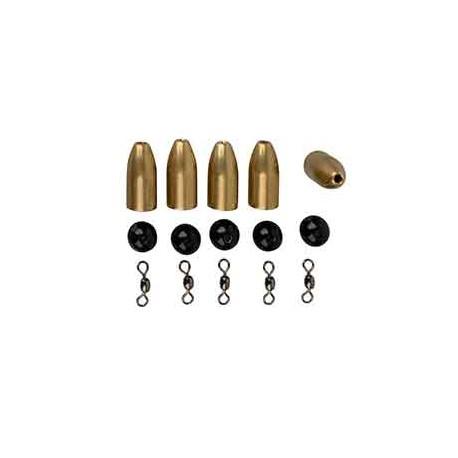 Savage Gear Brass Bullet Kit 10g