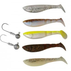 Savage Gear LB Pro 4Play Shad Kit 7,2cm Jiggpaket
