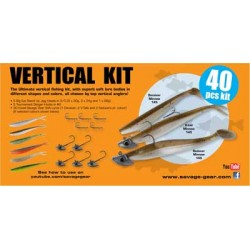 Savage Gear Vertical Pro Pack Kit Jiggpaket