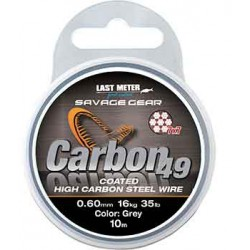 Savage Gear Carbon49 Wire 10m 0.60mm/16kg