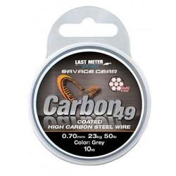 Savage Gear Carbon49 Wire 10m 0.70mm/23kg