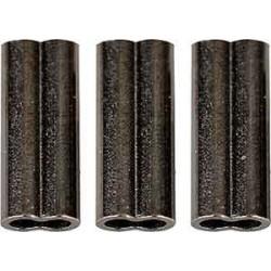Savage Gear Double Barrel Crimps BLN XL 10mm/1.5mm 50st