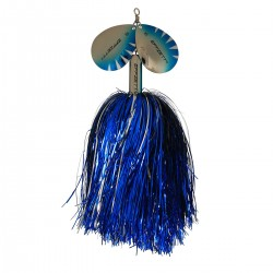 EFFZETT Pike Rattlin' Spinner 40g - Silver/Blue