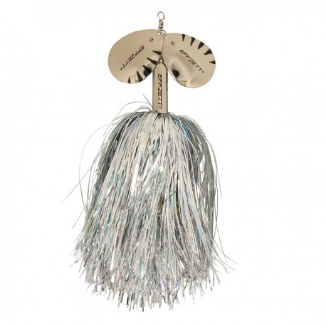 EFFZETT Pike Rattlin' Spinner 65g - Silver