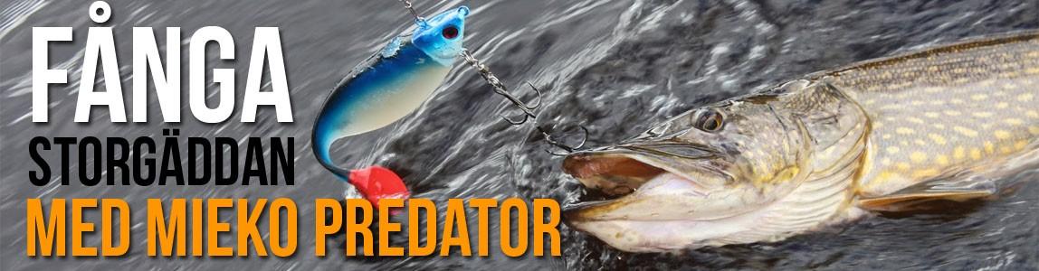Köp Mieko Predator-jiggar och fånga storgäddan!